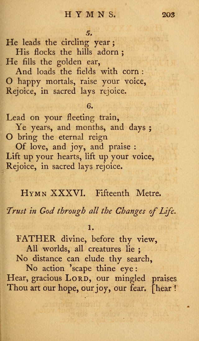 A Collection of Psalms and Hymns for Publick Worship (2nd ed.) page 203