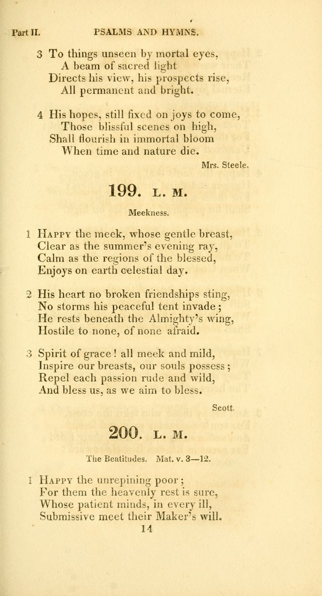 A Collection of Psalms and Hymns, for Social and Private Worship page 164