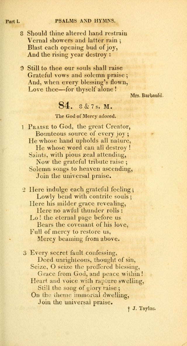 A Collection of Psalms and Hymns, for Social and Private Worship page 80