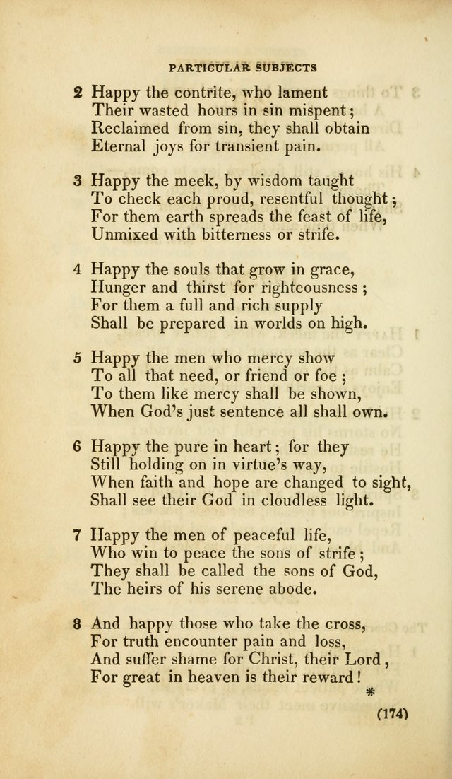 A Collection of Psalms and Hymns, for Social and Private Worship (Rev. ed.  with supplement) page 175