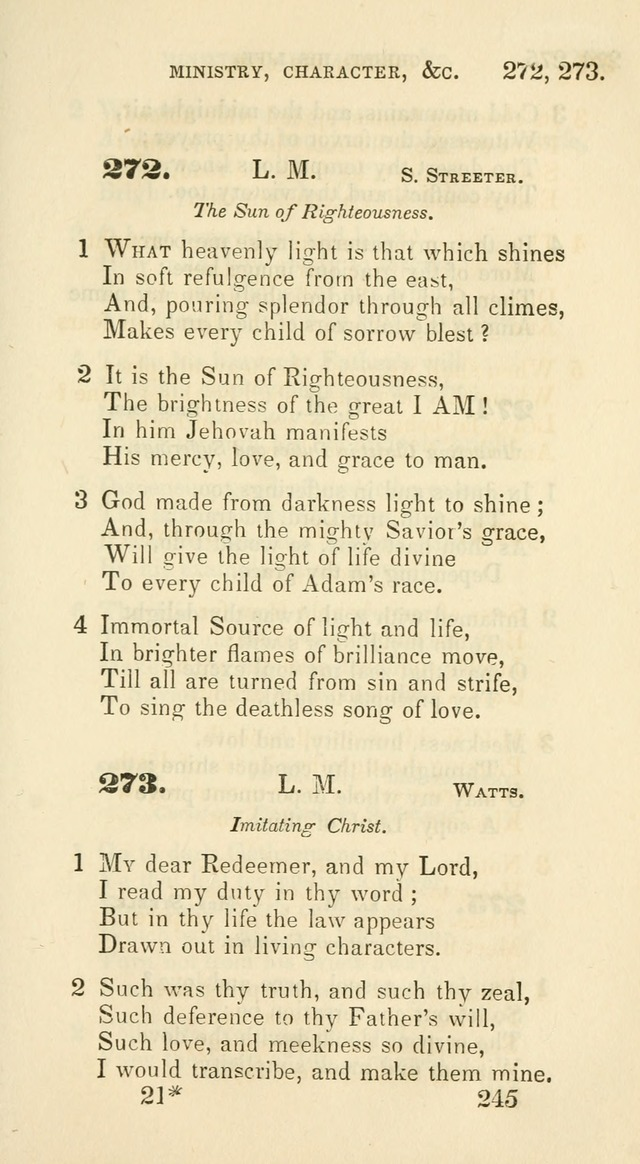 A Collection of Psalms and Hymns for the use of Universalist Societies and Families (13th ed.) page 243