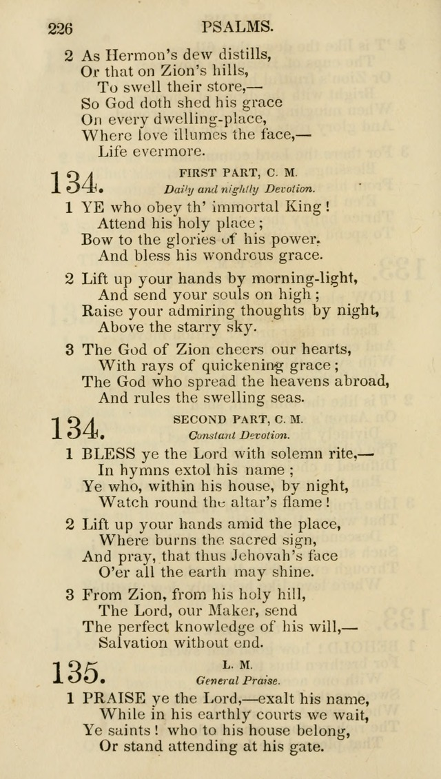 Church Psalmist: or psalms and hymns for the public, social and private use of evangelical Christians (5th ed.) page 228