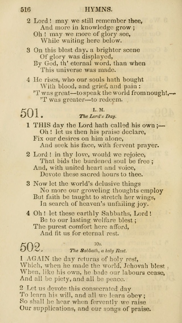 Church Psalmist: or psalms and hymns for the public, social and private use of evangelical Christians (5th ed.) page 518