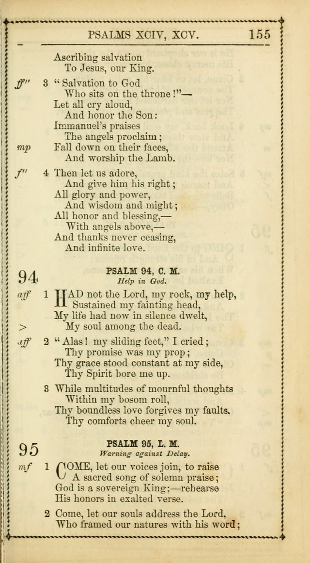Church Psalmist: or Psalms and Hymns Designed for the Public, Social, and  Private Use of Evangelical Christians ... with Supplement.  53rd ed. page 158