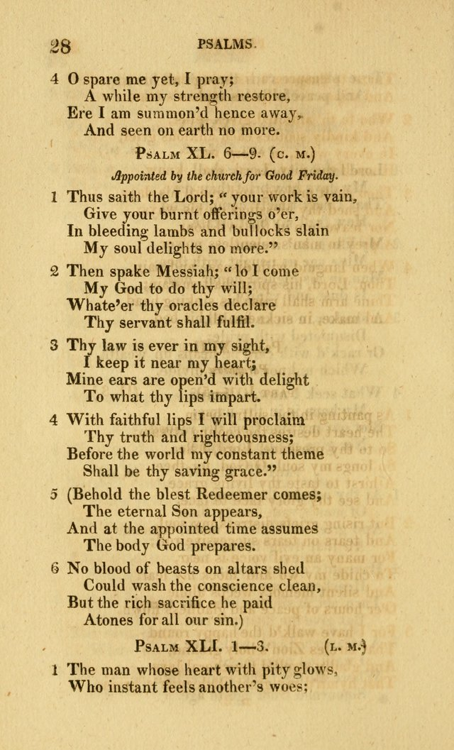 Church Poetry: being Portions of the Psalms in Verse and Hymns suited  to  the Festivals and Fasts, and Various Occasions of the Church page 45
