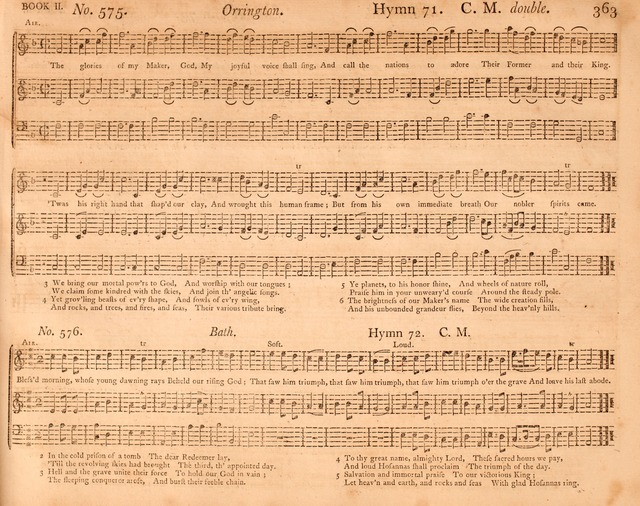 The Columbian Repository: or, Sacred Harmony: selected from European and American authors with many new tunes not before published page 373