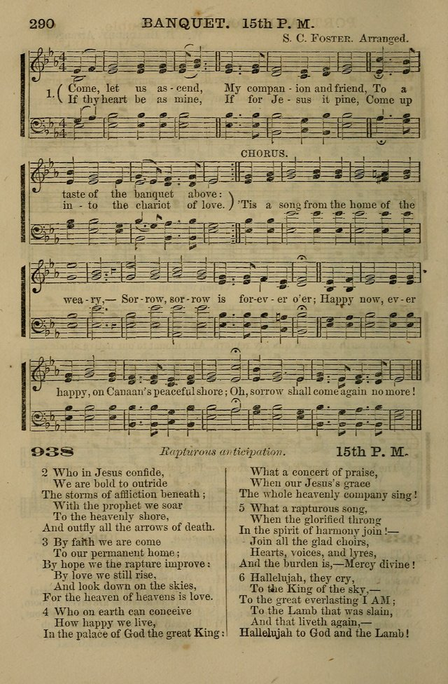 The Centenary Singer: a collection of hymns and tunes popular during the last one hundred years page 290