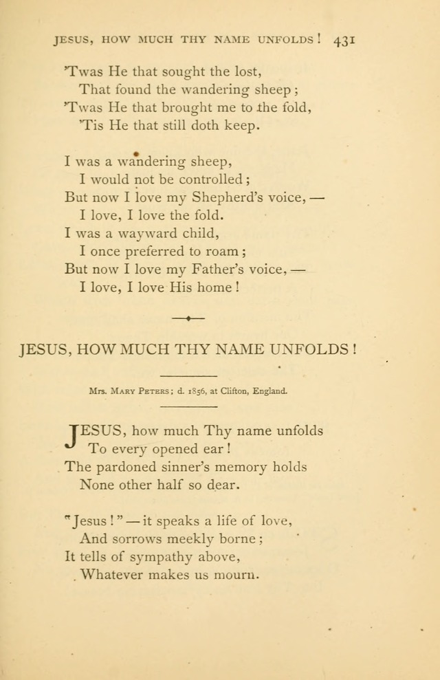 Christ in Song page 431