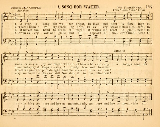 Christian Songs: for the Sunday School page 177