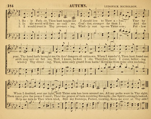 Christian Songs: for the Sunday School page 184