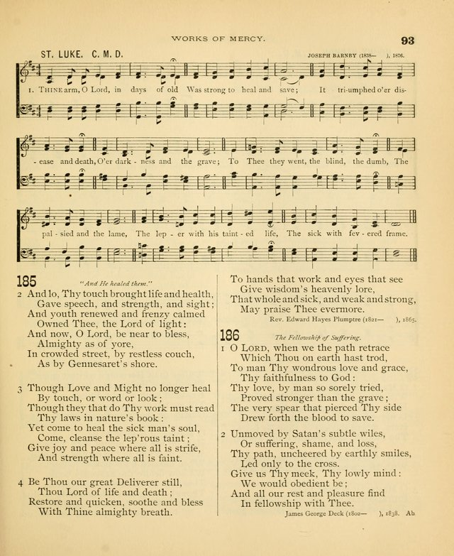 Carmina Sanctorum: a selection of hymns and songs of praise with tunes page 94