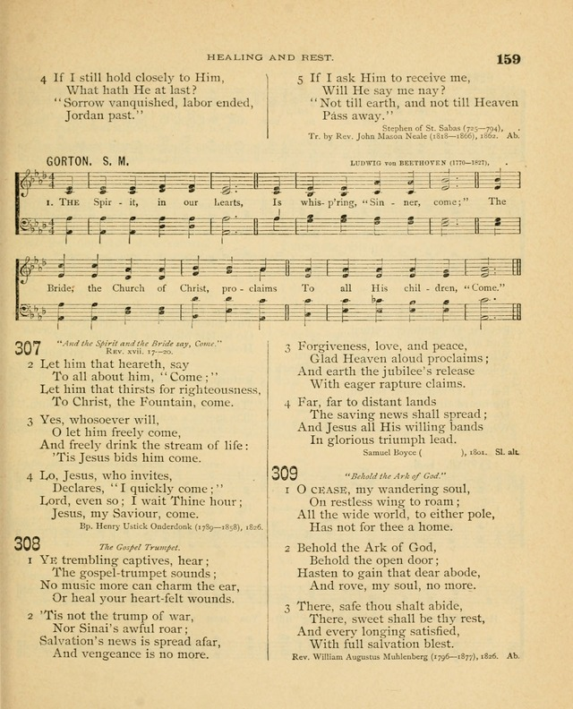 Carmina Sanctorum, a selection of hymns and songs of praise with tunes page 160