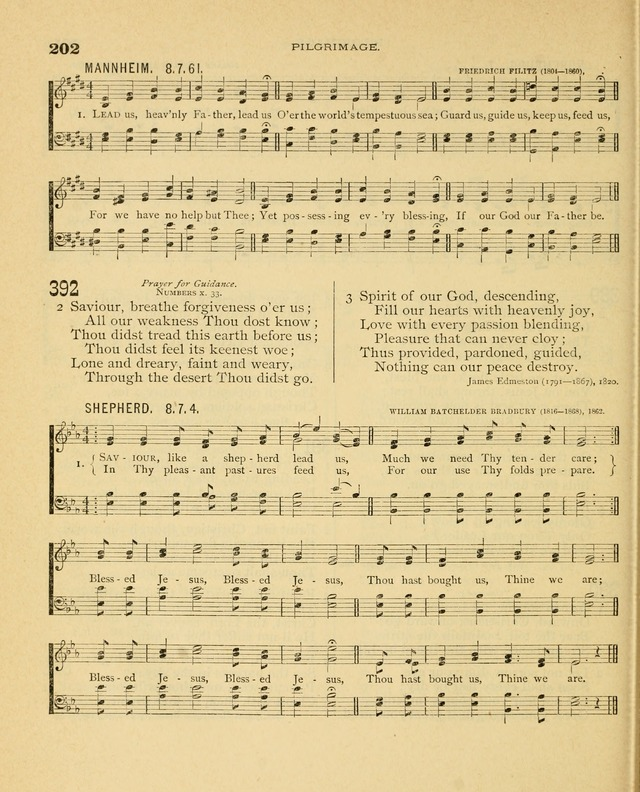 Carmina Sanctorum, a selection of hymns and songs of praise with tunes page 203