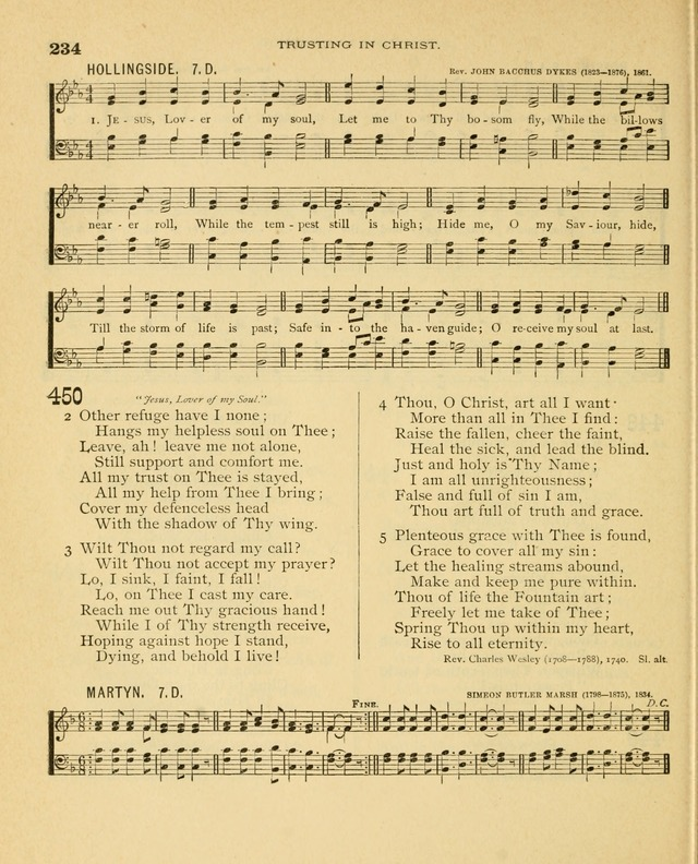 Carmina Sanctorum, a selection of hymns and songs of praise with tunes page 235