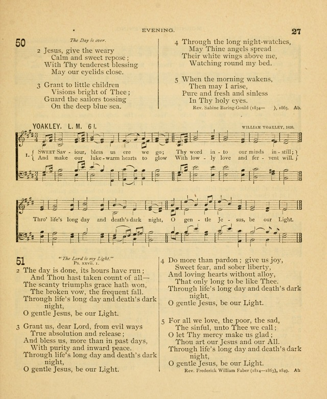 Carmina Sanctorum, a selection of hymns and songs of praise with tunes page 28