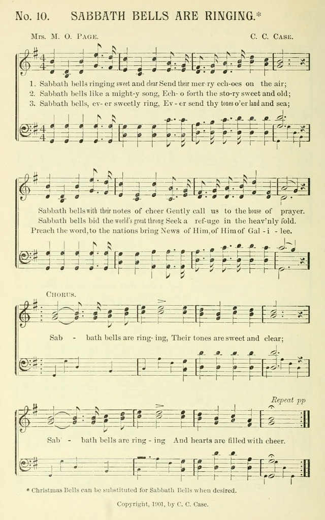 Choice Songs, a collection of Sunday school and gospel songs for use in churches, Sunday schools, young people