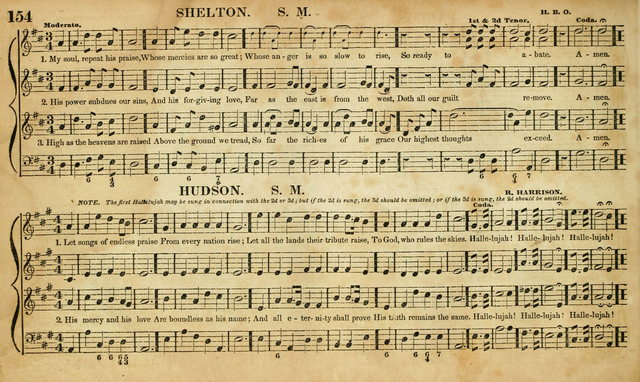 Carmina Sacra: or, Boston Collection of Church Music: comprising the most popular psalm and hymn tunes in eternal use together with a great variety of new tunes, chants, sentences, motetts... page 118
