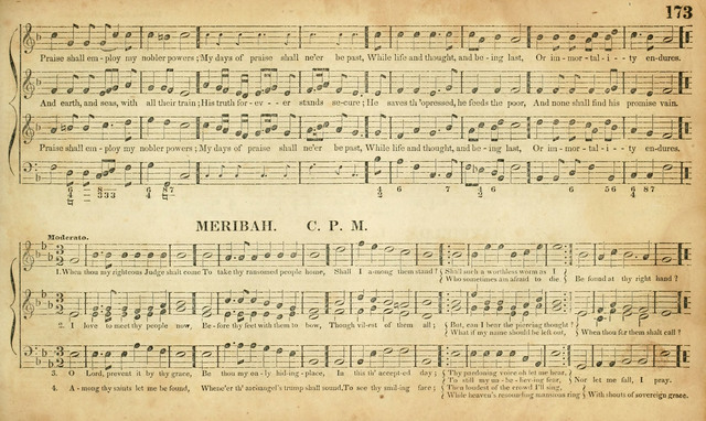 Carmina Sacra: or, Boston Collection of Church Music: comprising the most popular psalm and hymn tunes in eternal use together with a great variety of new tunes, chants, sentences, motetts... page 137