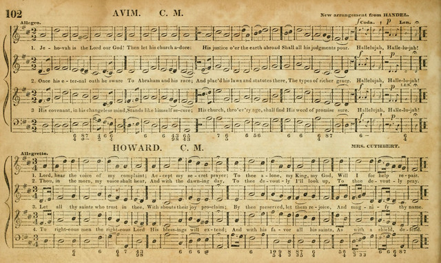 Carmina Sacra: or, Boston Collection of Church Music: comprising the most popular psalm and hymn tunes in eternal use together with a great variety of new tunes, chants, sentences, motetts... page 66