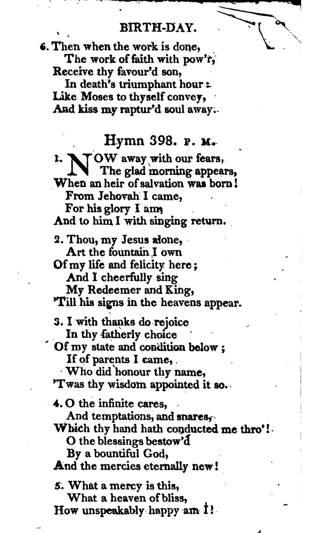 A Choice Selection of Evangelical Hymns, from various authors: for the use of the English Evangelical Lutheran Church in New York page 277