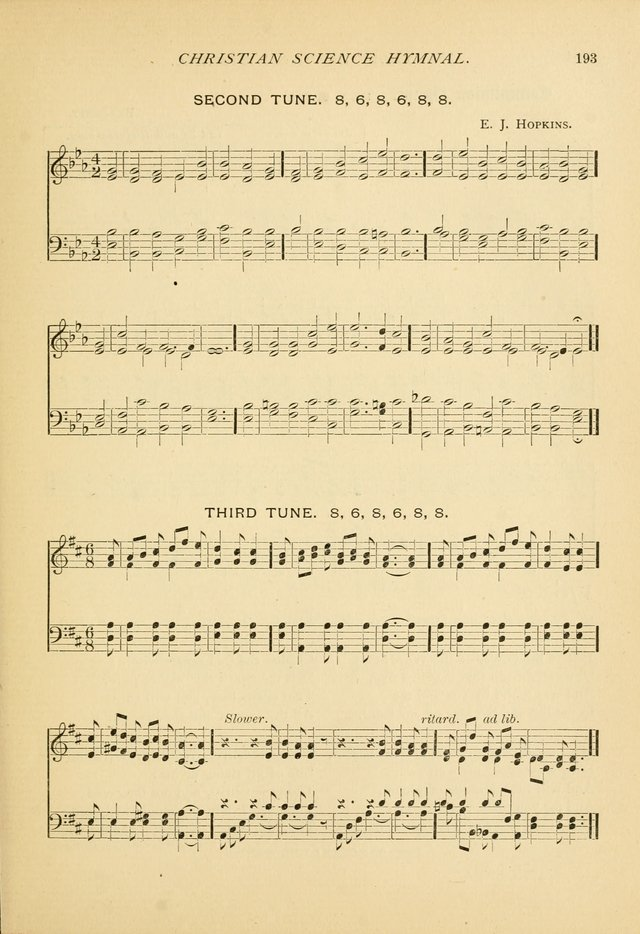Christian Science Hymnal: a selection of spiritual songs page 195