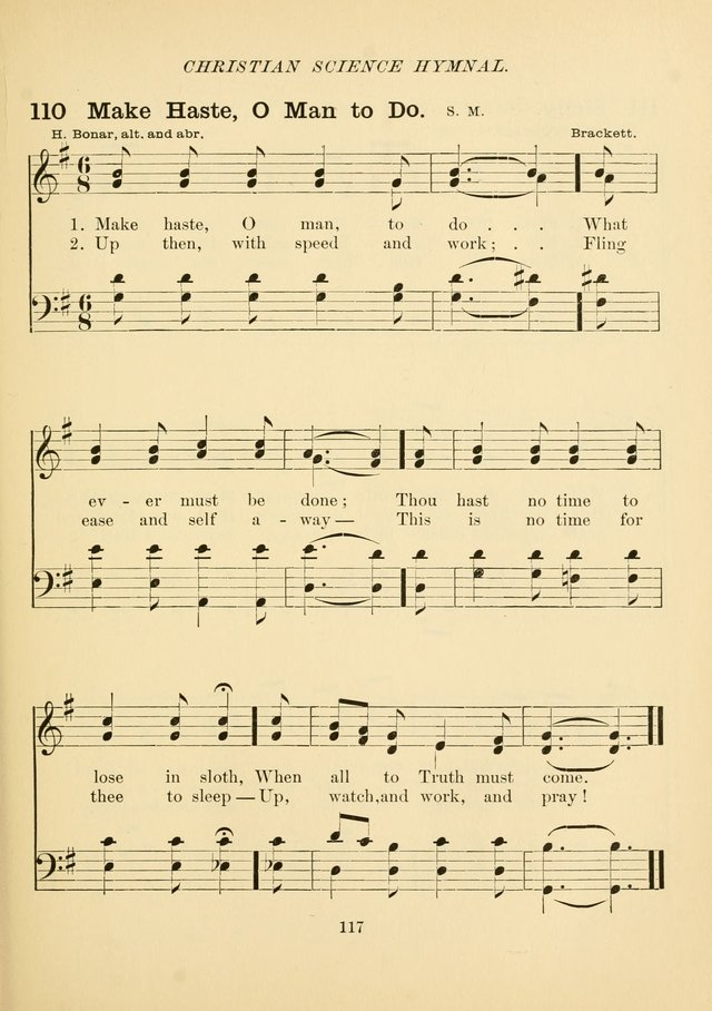 Christian Science Hymnal: a selection of spiritual songs page 126