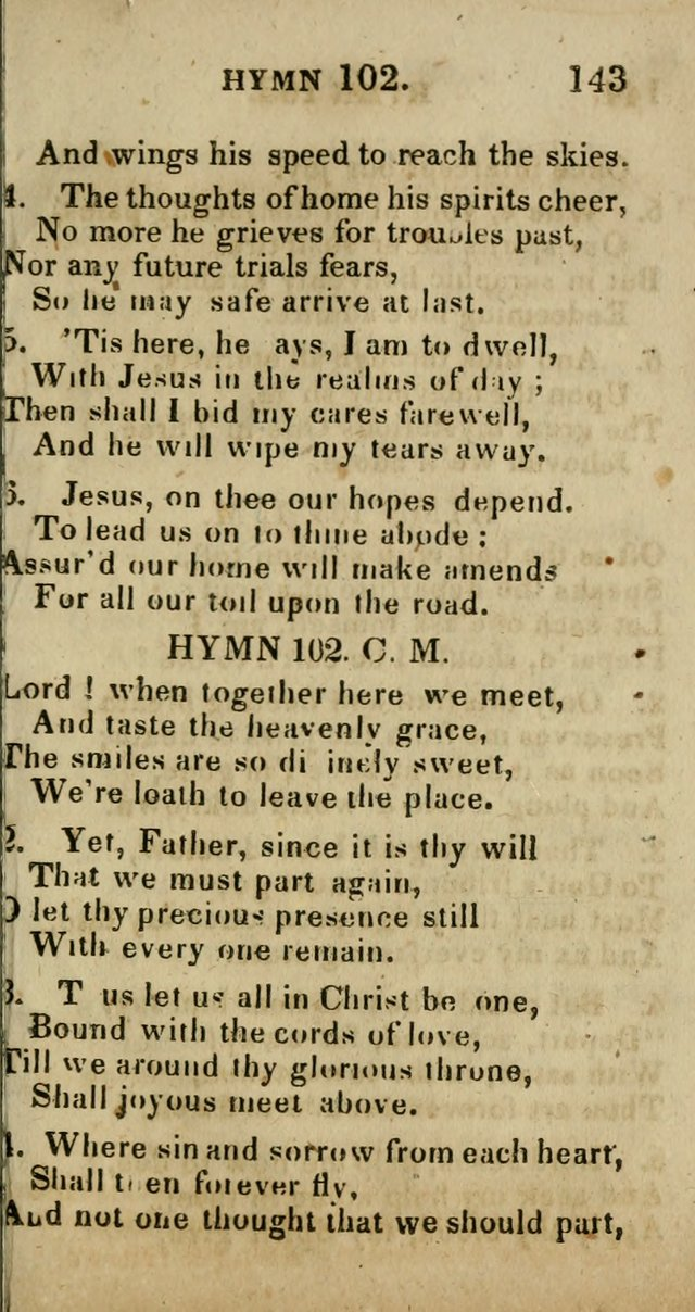 A Choice Selection of Hymns and Spiritual Songs, Designed to Aid in the Devotions of Prayer, Conference, and Camp-Meetings page 154