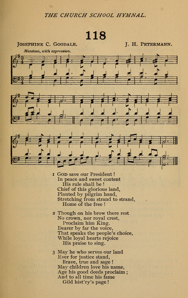 The Church School Hymnal with Tunes page 144