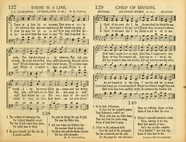 Christ in Song: for all religious services nearly one thousand best gospel hymns, new and old with responsive scripture readings (Rev. and Enl.) page 101