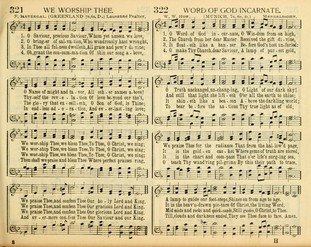 Christ in Song: for all religious services nearly one thousand best