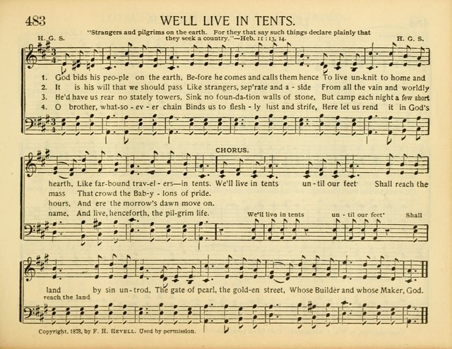 Weu0027ll Live in Tents  sc 1 st  Hymnary.org & Christ in Song: for all religious services nearly one thousand ...