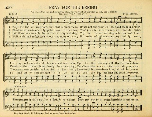 Pray for the erring ones faith shall reclaim them   Hymnary org
