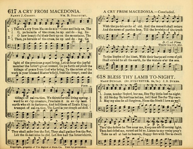 Christ in Song: for all religious services nearly one thousand best gospel hymns, new and old with responsive scripture readings (Rev. and Enl.) page 395