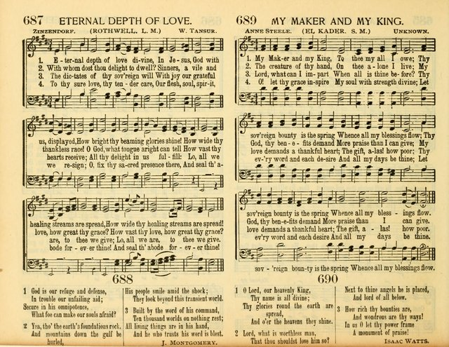 new and old with responsive scripture readings (Rev. and Enl.) (1908