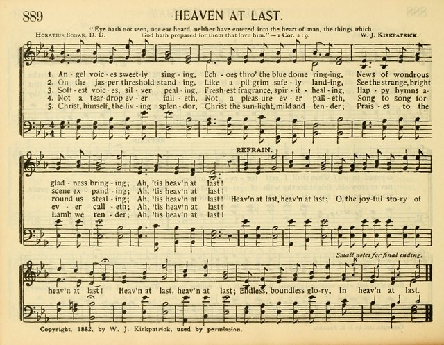 Heaven at Last | Hymnary org
