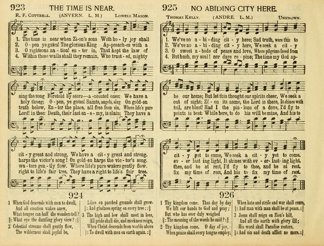 Christ in Song: for all religious services nearly one thousand best gospel hymns, new and old with responsive scripture readings (Rev. and Enl.) page 534