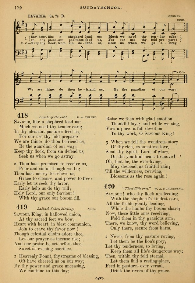 The Calvary Selection of Spiritual Songs: with music for use in social meetings. page 172