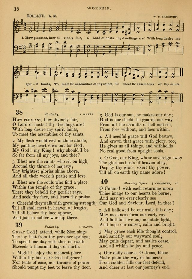 The Calvary Selection of Spiritual Songs: with music for use in social meetings. page 18