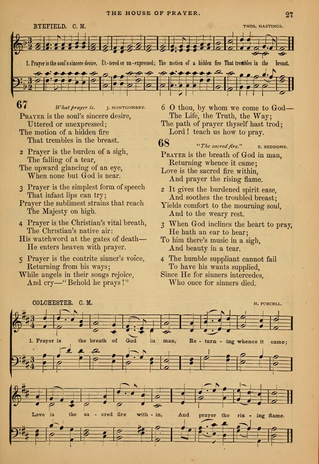 The Calvary Selection of Spiritual Songs: with music for use in social meetings. page 27
