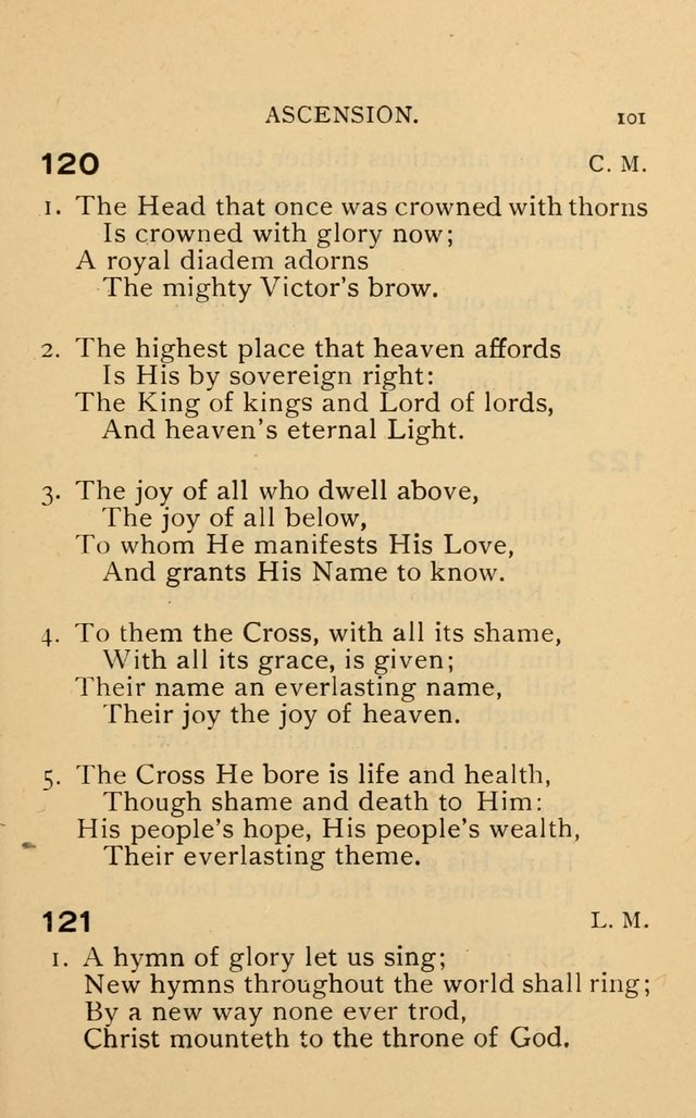 The Church and Sunday-School Hymnal page 189