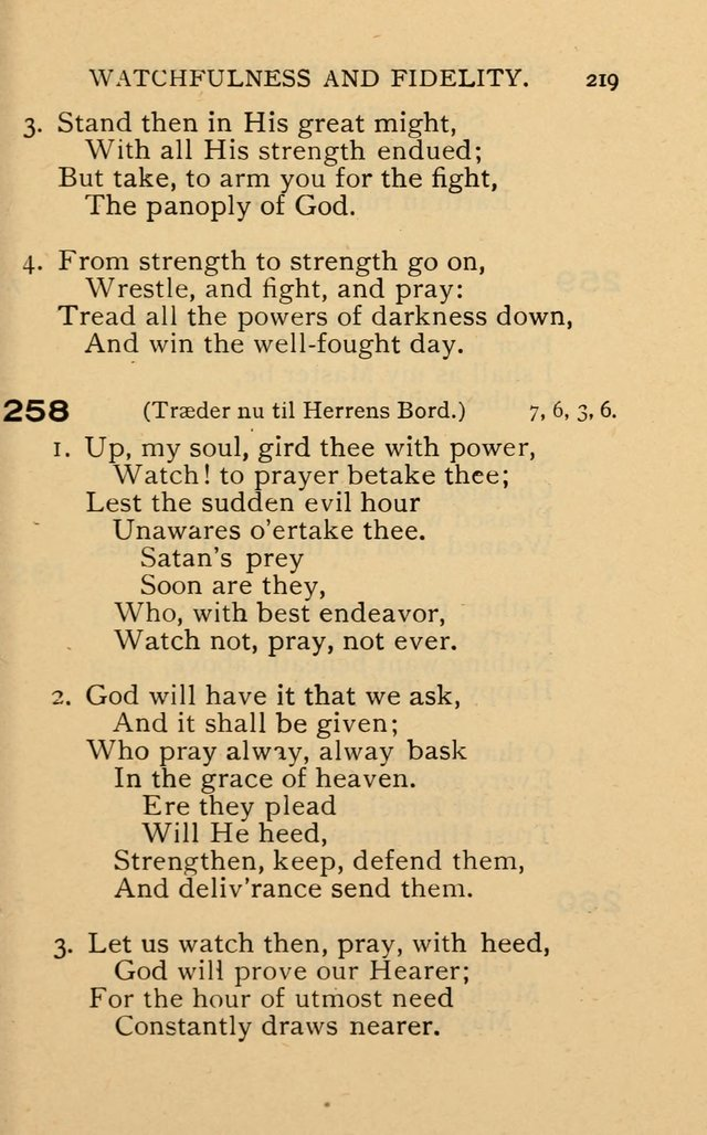The Church and Sunday-School Hymnal page 307