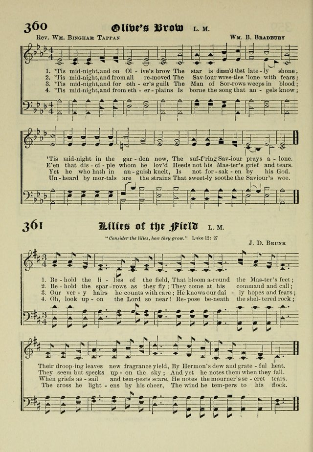 Church and Sunday School Hymnal with Supplement: a Collection of Hymns and Sacred Songs ... [with Deutscher Anhang] page 256