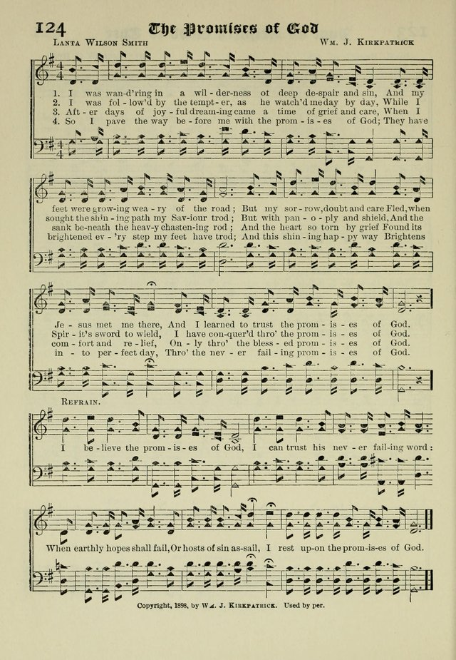 Church and Sunday School Hymnal, a Collection of Hymns and Sacred Songs ... [with Deutscher Anhang] page 82
