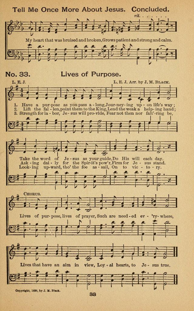 The Chorus of Praise: for use in Sunday Schools, Young People