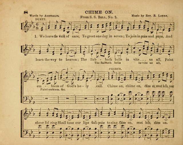 The Diadem: a collection of tunes and hymns for Sunday school and devotional meetings page 8