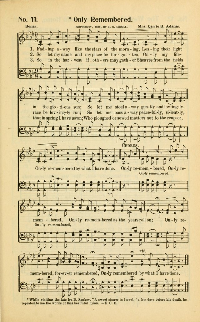 Diadems: a collection of religious songs, new and old, for the