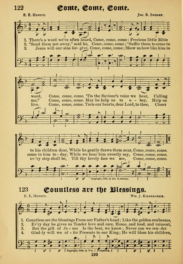 Dew Drops: comprising new songs, hymns, etc. for young singers page 118
