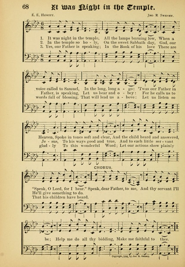 Dew Drops: comprising new songs, hymns, etc. for young singers page 66
