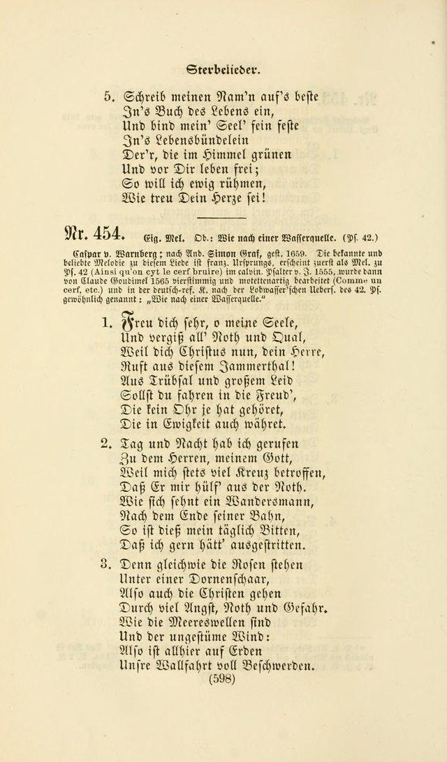 Deutsches Gesangbuch: eine auswahl geistlicher Lieder aus allen ...