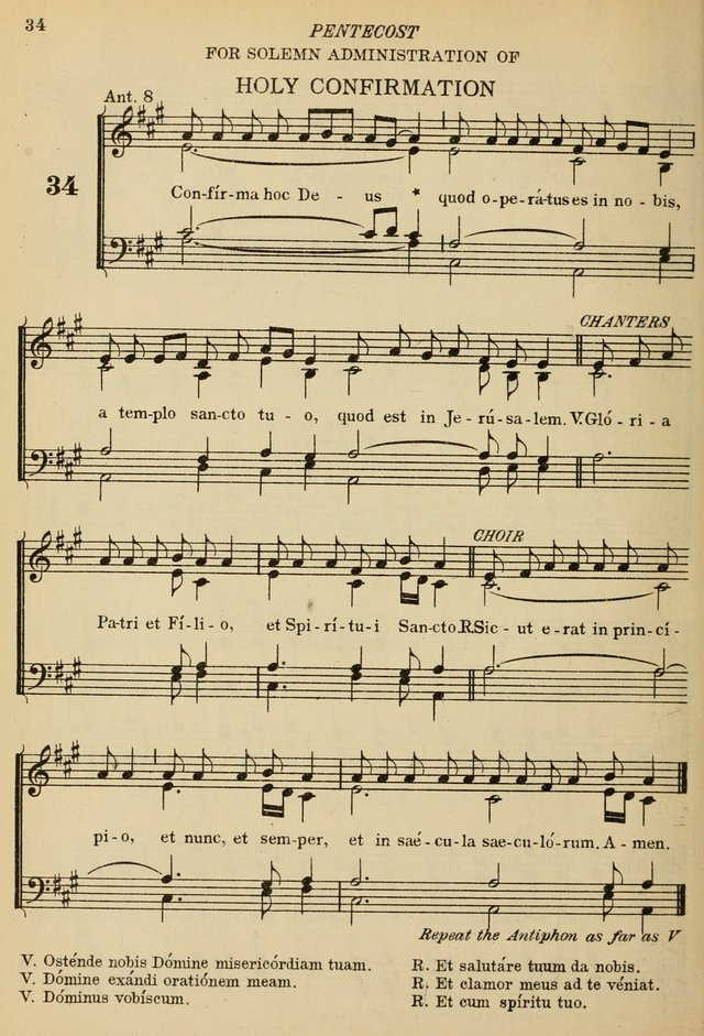 The De La Salle Hymnal: for Catholic schools and choirs page 34